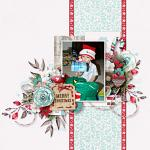Have Yourself A Country Little Christmas :: Layout by Kim