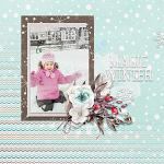 Have Yourself A Country Little Christmas :: Layout by Alexandra