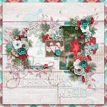 Have Yourself A Country Little Christmas :: Layout by Ellen