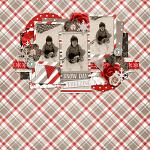 Layout by Hailey using Happy Winter by lliella designs