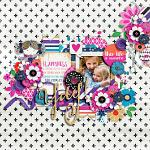 Celebrate Everything :: Layout by Mary