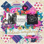 Celebrate Everything :: Layout by Cassie