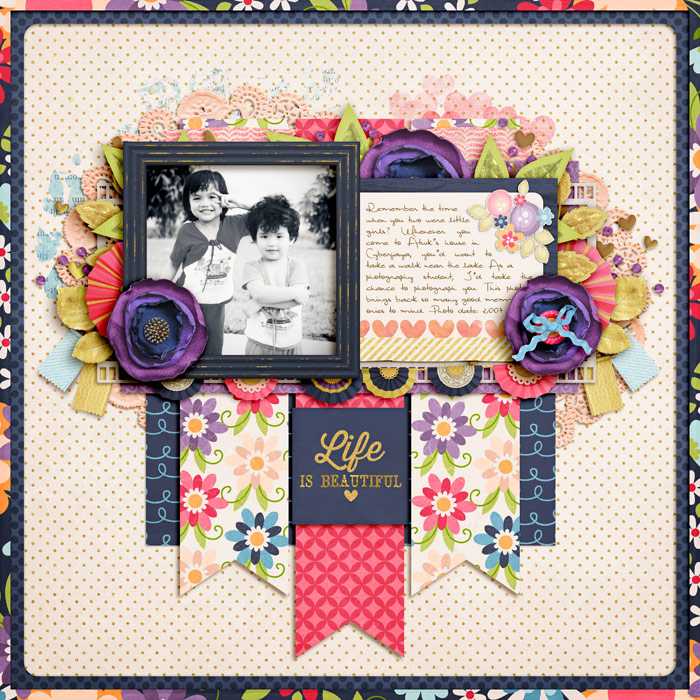Layout by Zakirah