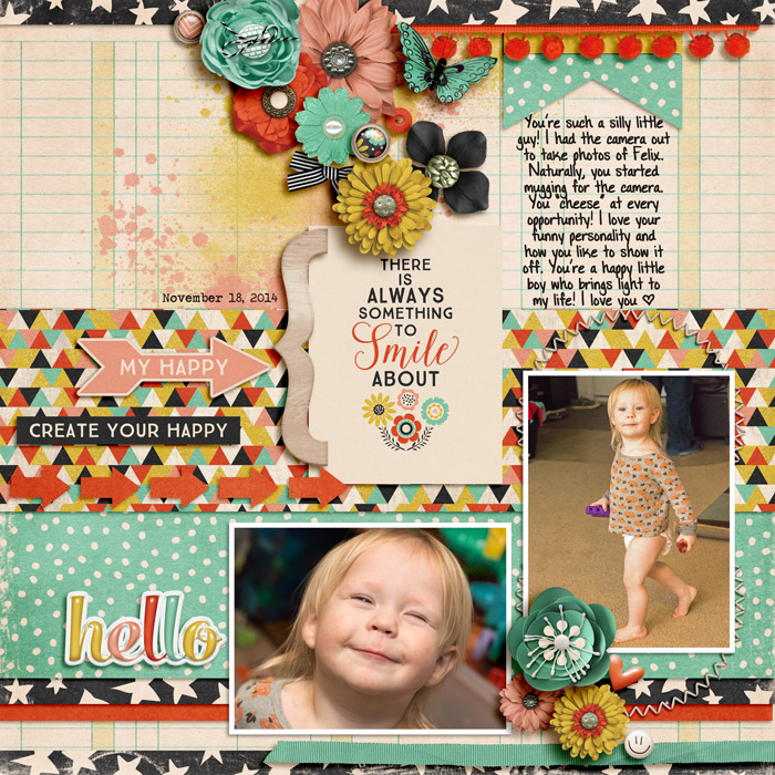 Layout by Jennifer V