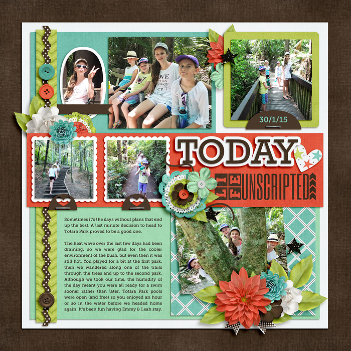 Layout by Jacinda
