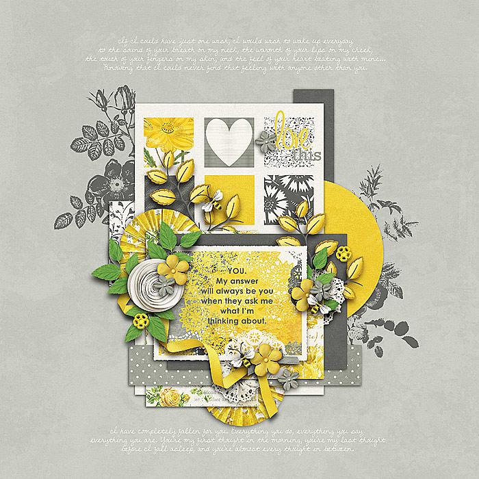 Felicity digital scrapbook kit by Krystal Hartley