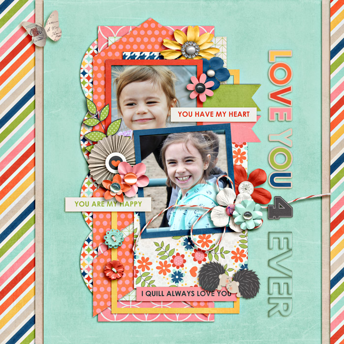 Layout by Niki