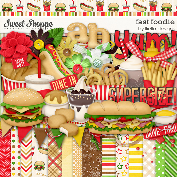 Fast Foodie Kit by lliella designs