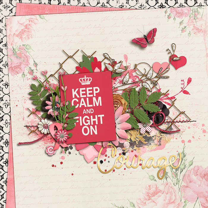 Treasured Chests digital scrapbook kit by Krystal Hartley and Melissa Bennett