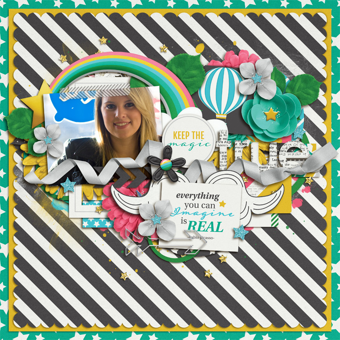 Layout by Becca