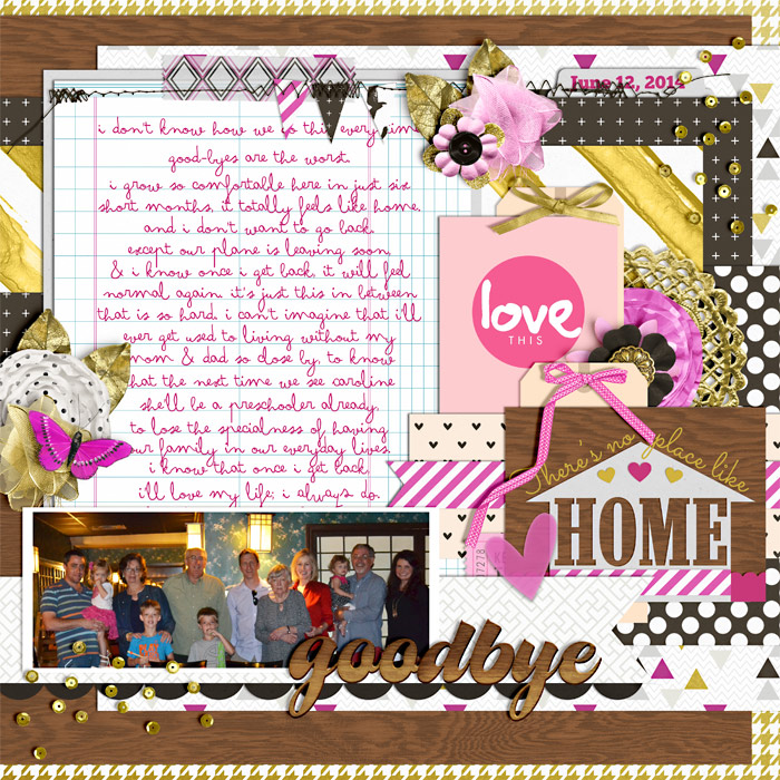 Layout by Kellie