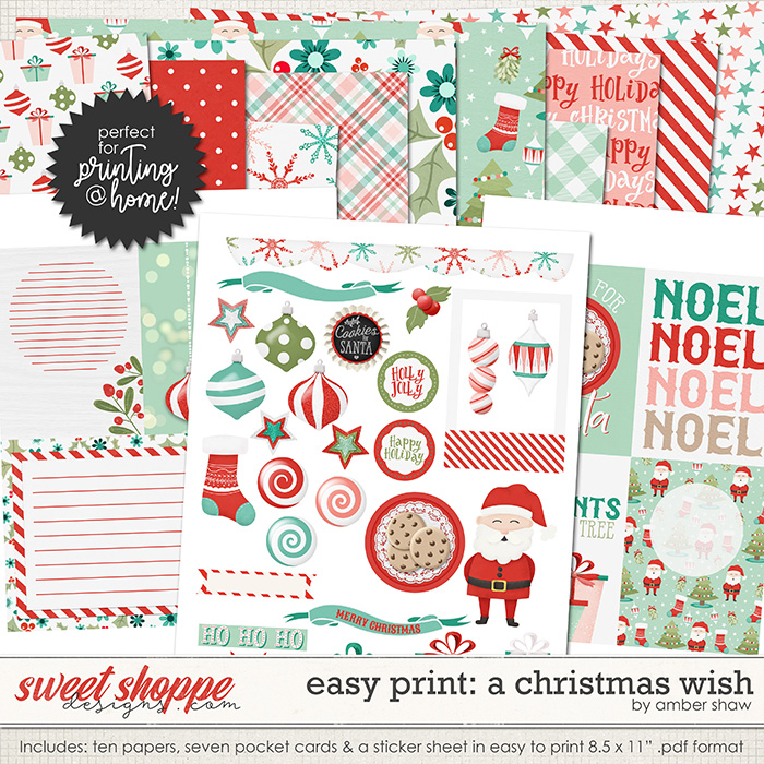 Easy Print: A Christmas Wish by Amber Shaw