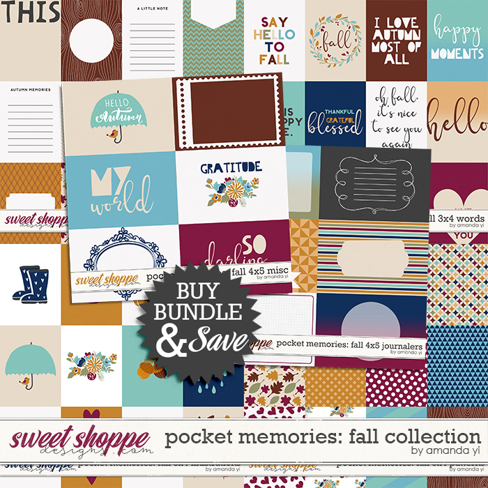 Pocket Memories: Fall Collection by Amanda Yi