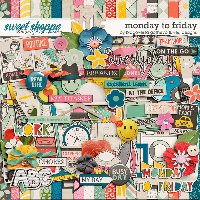 Monday to Friday by Blagovesta Gosheva & Vesi Designs