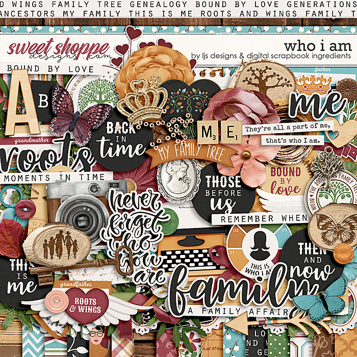 Who I Am by LJS Designs & Digital Scrapbook Ingredients