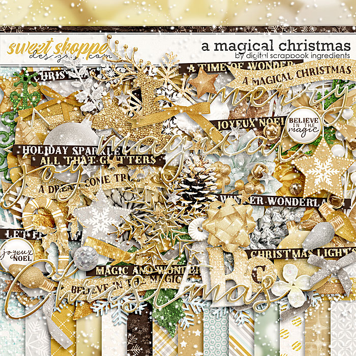 A Magical Christmas by Digital Scrapbook Ingredients