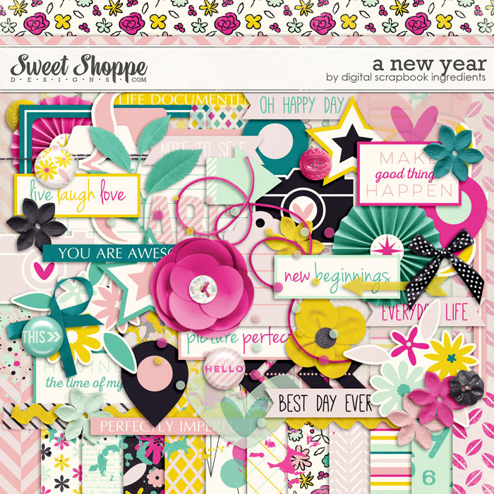 A New Year by Digital Scrapbook Ingredients