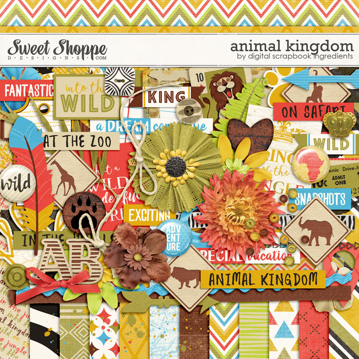 Animal Kingdom by Digital Scrapbook Ingredients