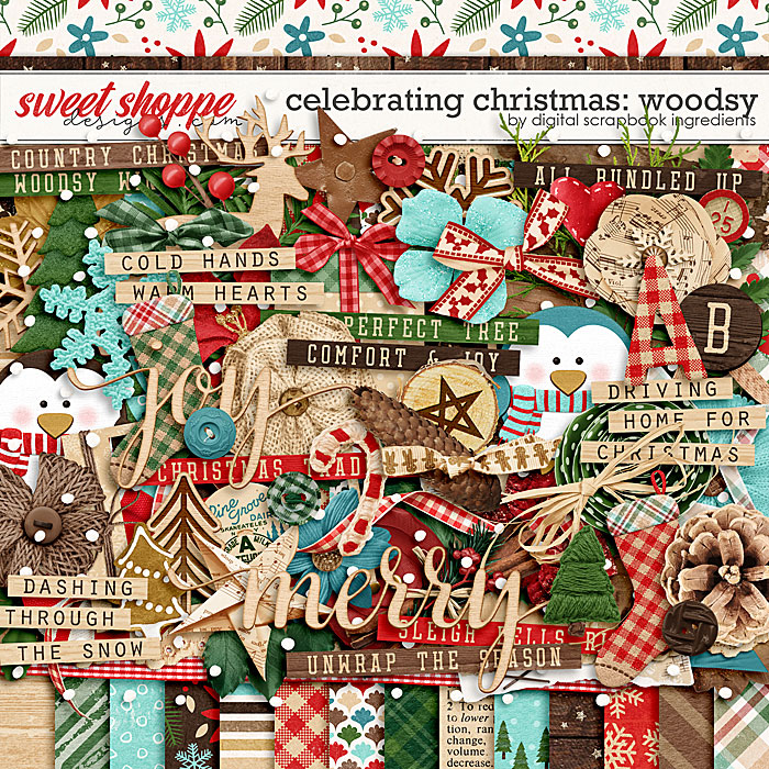 Celebrating Christmas: Woodsy by Digital Scrapbook Ingredients