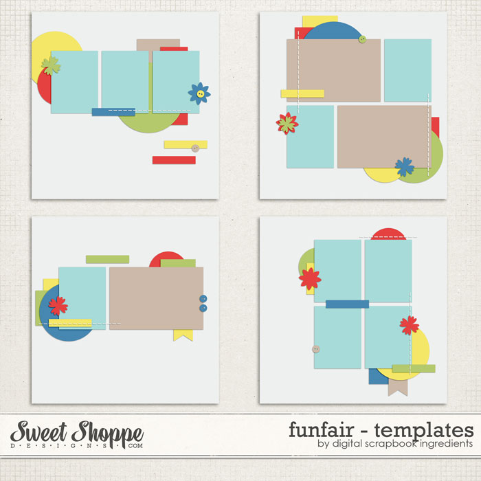 Funfair | Templates by Digital Scrapbook Ingredients