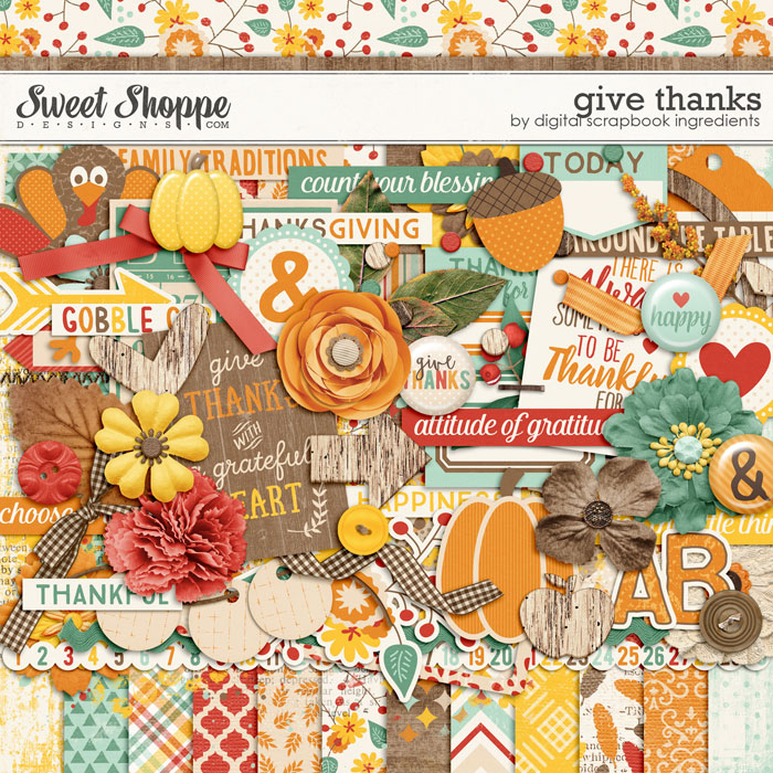 Give Thanks by Digital Scrapbook Ingredients