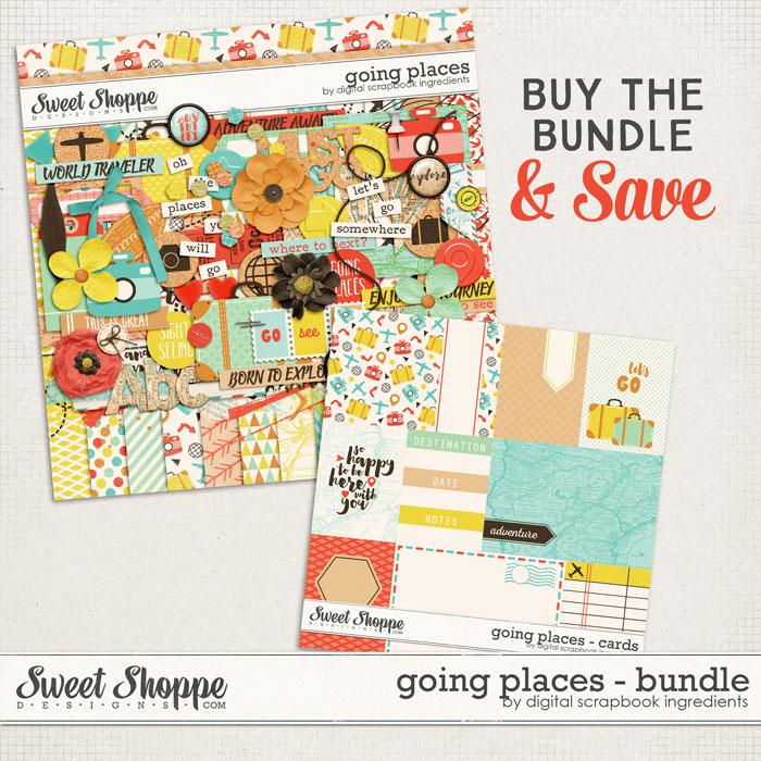 Going Places Bundle by Digital Scrapbook Ingredients