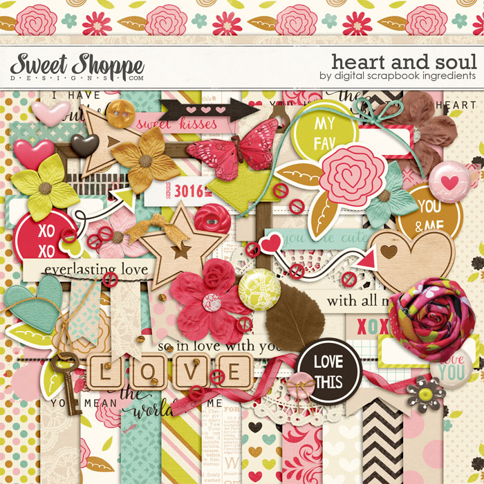 Heart And Soul by Digital Scrapbook Ingredients