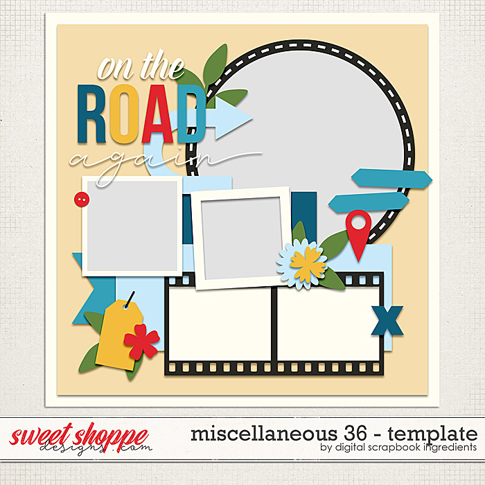 Miscellaneous 36 Template by Digital Scrapbook Ingredients