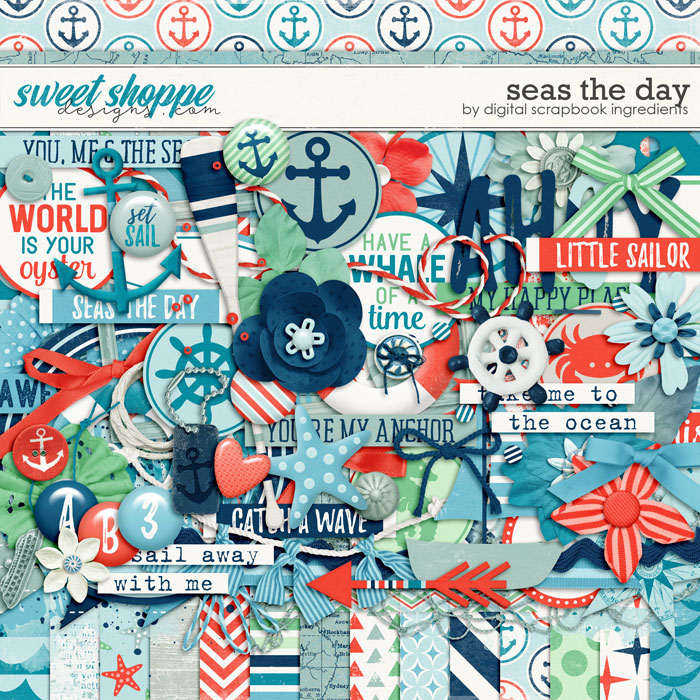 Seas The Day by Digital Scrapbook Ingredients