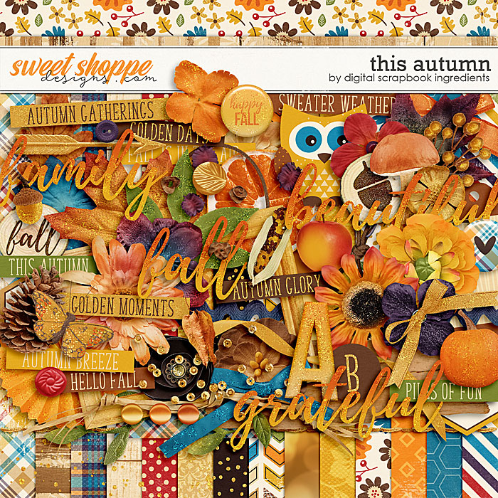 This Autumn by Digital Scrapbook Ingredients