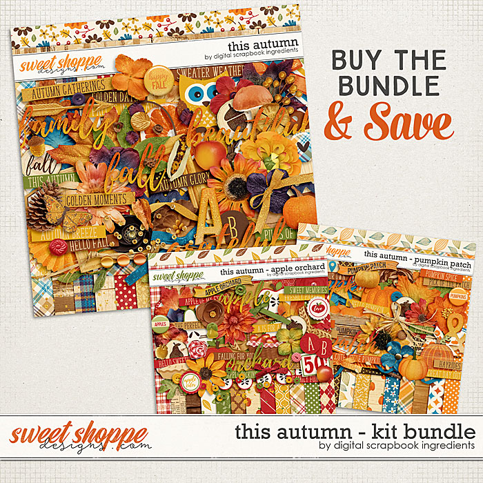 This Autumn | Kit Bundle by Digital Scrapbook Ingredients