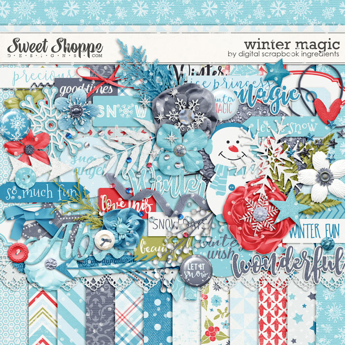 Winter Magic by Digital Scrapbook Ingredients