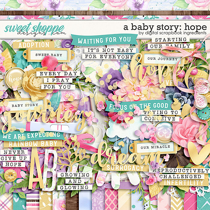 A Baby Story: Hope by Digital Scrapbook Ingredients