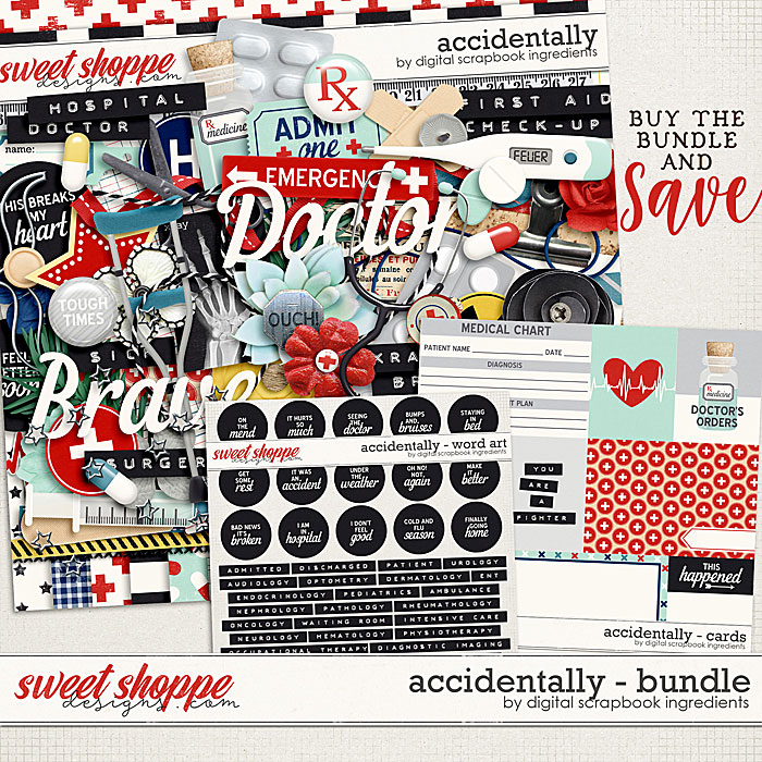 Accidentally Bundle by Digital Scrapbook Ingredients