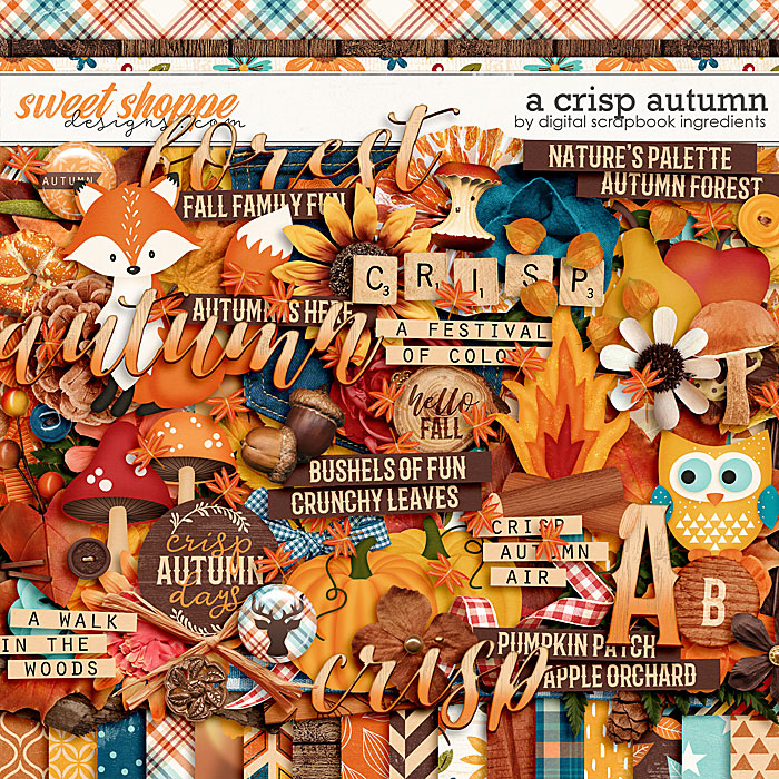 A Crisp Autumn by Digital Scrapbook Ingredients
