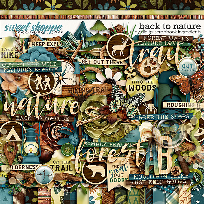 Back To Nature by Digital Scrapbook Ingredients