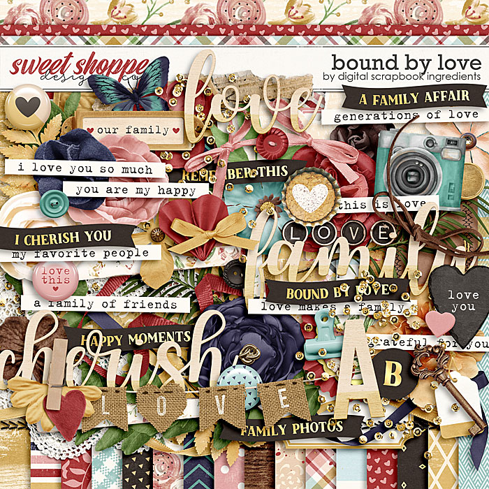 Bound By Love by Digital Scrapbook Ingredients