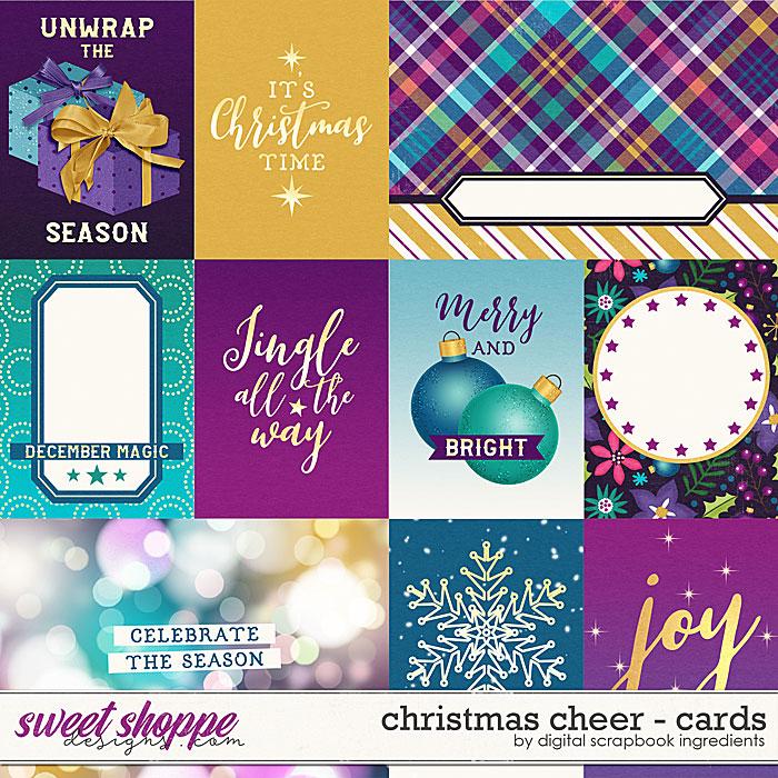Christmas Cheer | Cards by Digital Scrapbook Ingredients