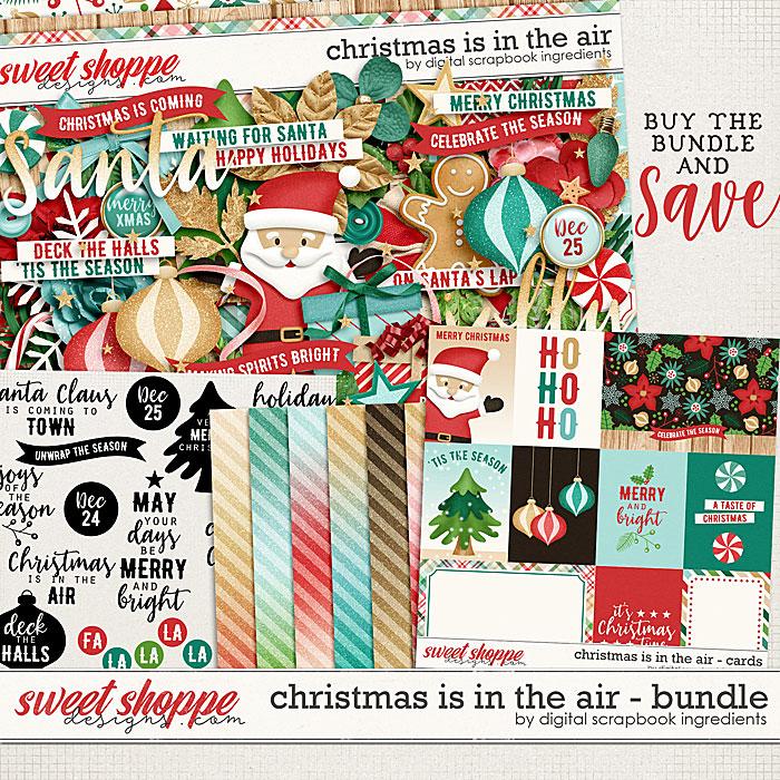 Christmas Is In The Air Bundle by Digital Scrapbook Ingredients