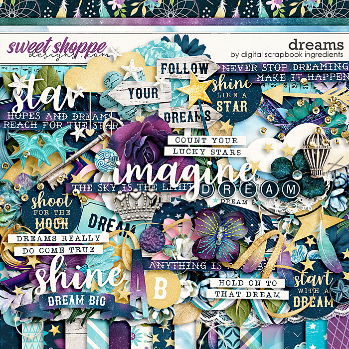 Dreams by Digital Scrapbook Ingredients