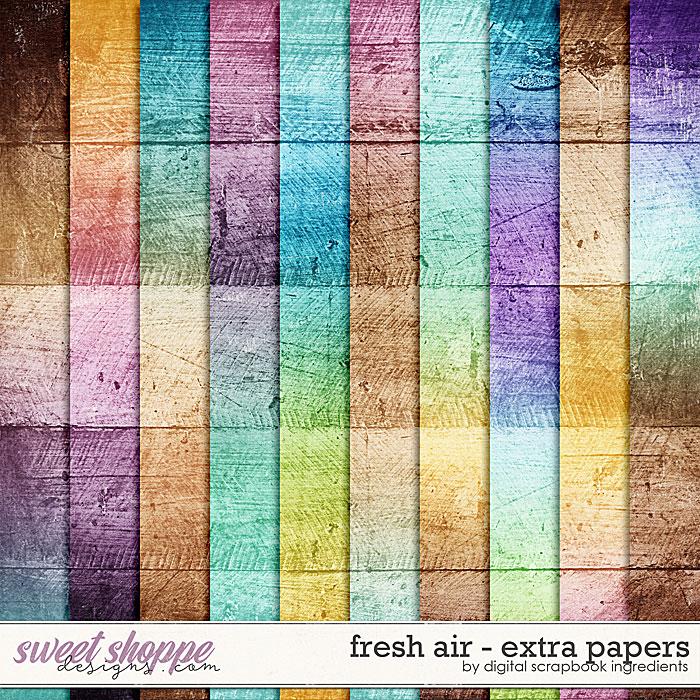 Fresh Air | Extra Papers by Digital Scrapbook Ingredients