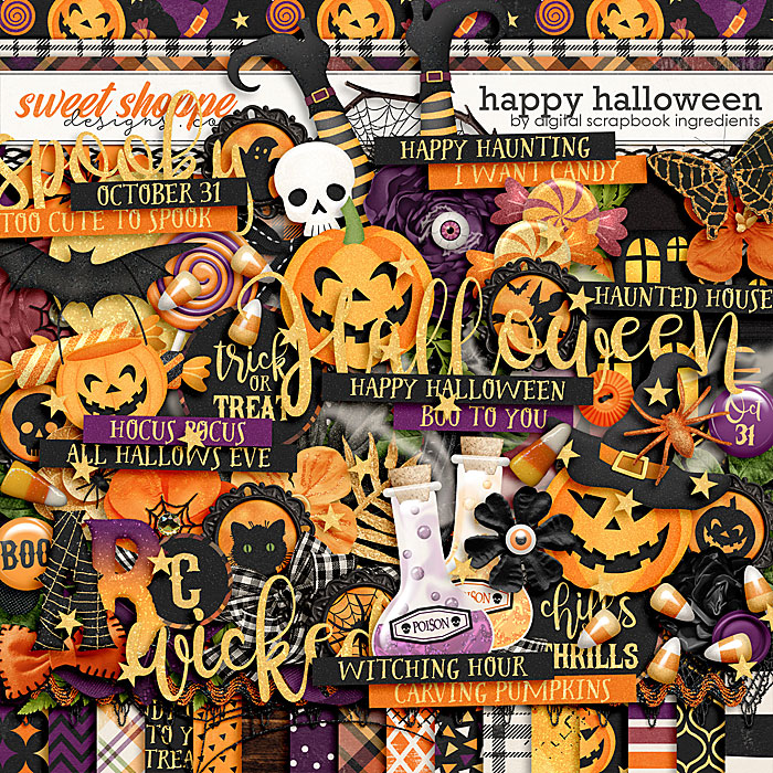 Happy Halloween by Digital Scrapbook Ingredients
