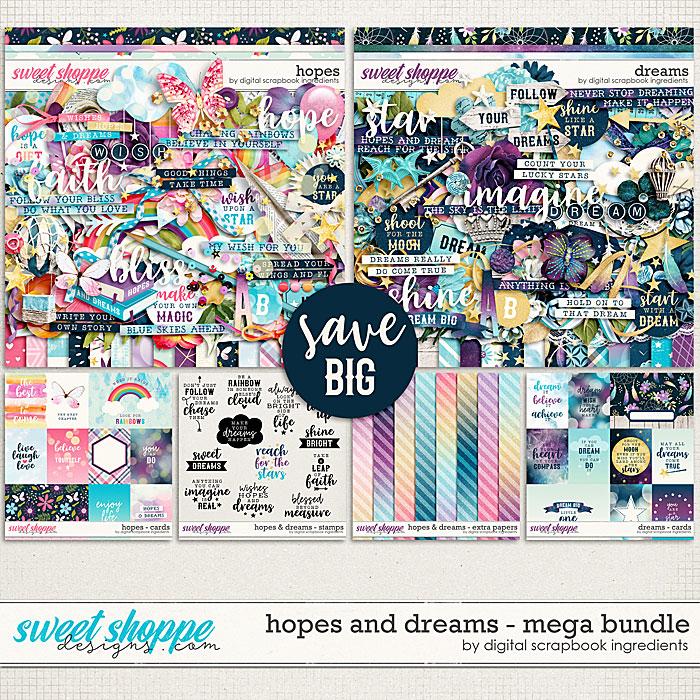 Hopes & Dreams Mega Bundle by Digital Scrapbook Ingredients