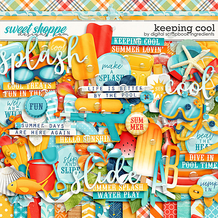 Keeping Cool by Digital Scrapbook Ingredients