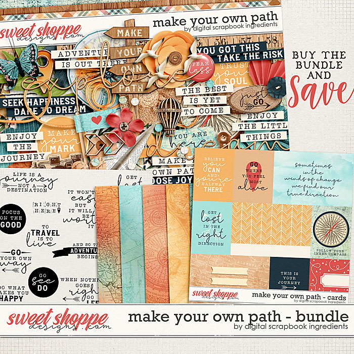 Make Your Own Path Bundle by Digital Scrapbook Ingredients