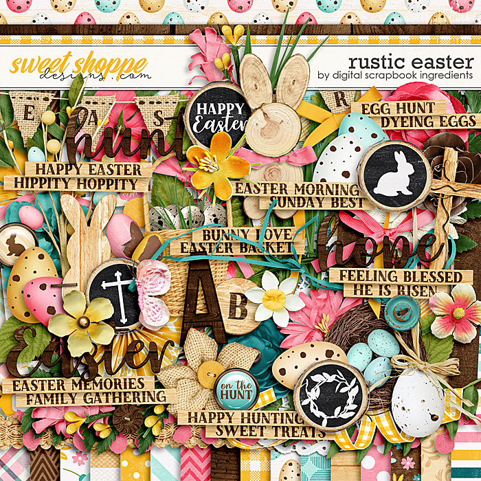 Rustic Easter by Digital Scrapbook Ingredients