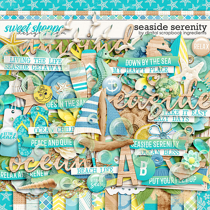 Seaside Serenity by Digital Scrapbook Ingredients