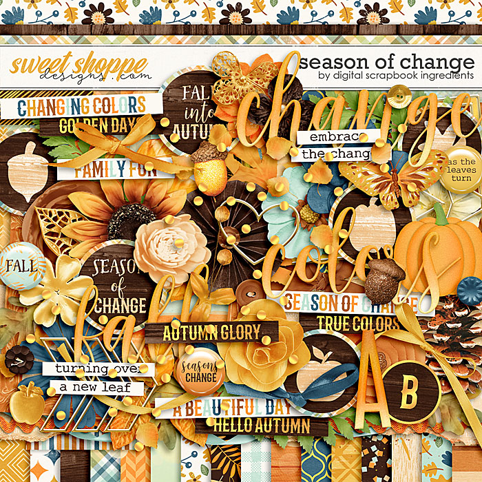 Season Of Change by Digital Scrapbook Ingredients