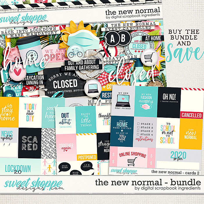 The New Normal Bundle by Digital Scrapbook Ingredients