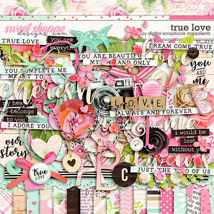True Love by Digital Scrapbook Ingredients
